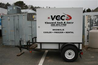 mobile cold storage trailer