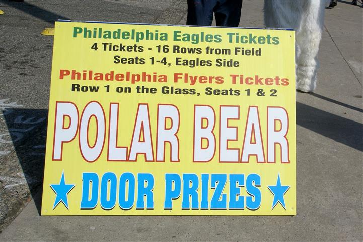Philadelphia eagle prize tickets