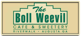 The Boll Weevil Cafe & Sweetery. Riverwalk, Augusta, Georgia