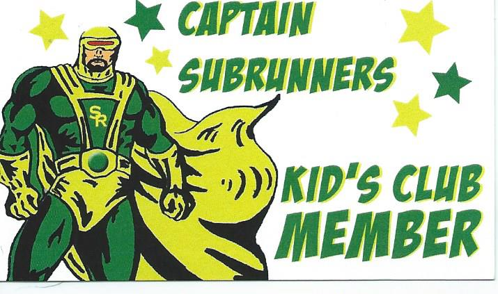 captain sub runners kid clubs member card
