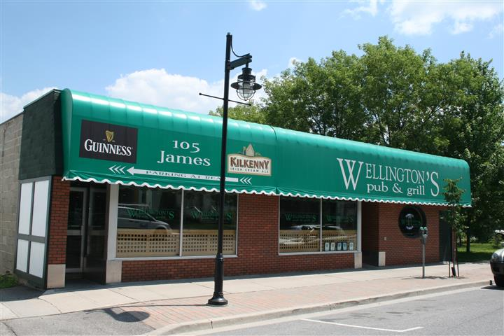 exterior entrance for wellingtons