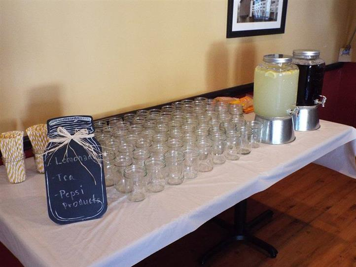 A Beverages buffet