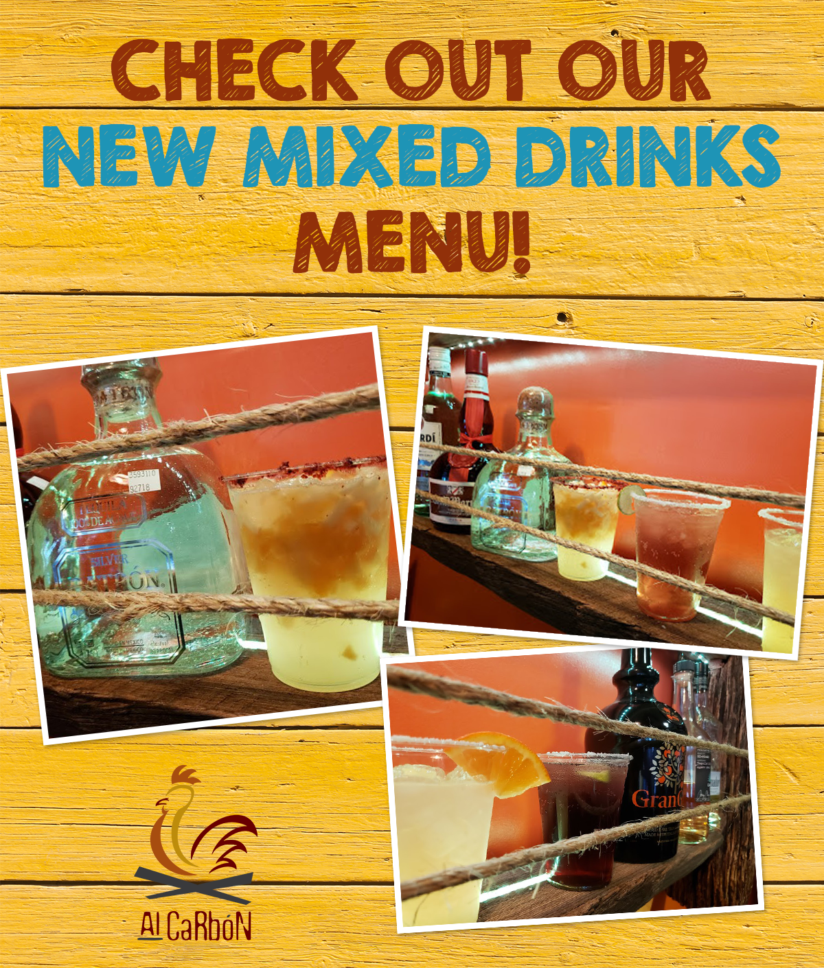 Check out our new drinks menu!