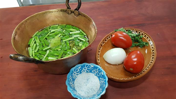 multiple dishes of vegetables
