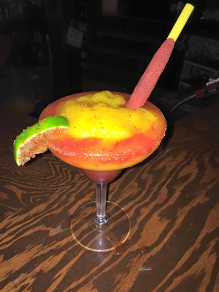 mango and chamoy margarita