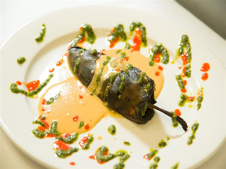 Stuffed Poblano