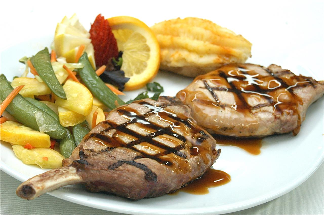 Center Cut Teriyaki Pork Chop