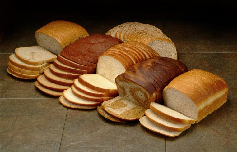 loaves of bread cut in slices