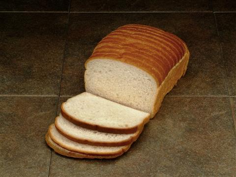 sliced country white bread