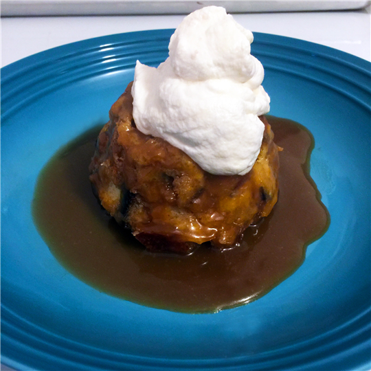 Rustic Sourwheat Bread Pudding