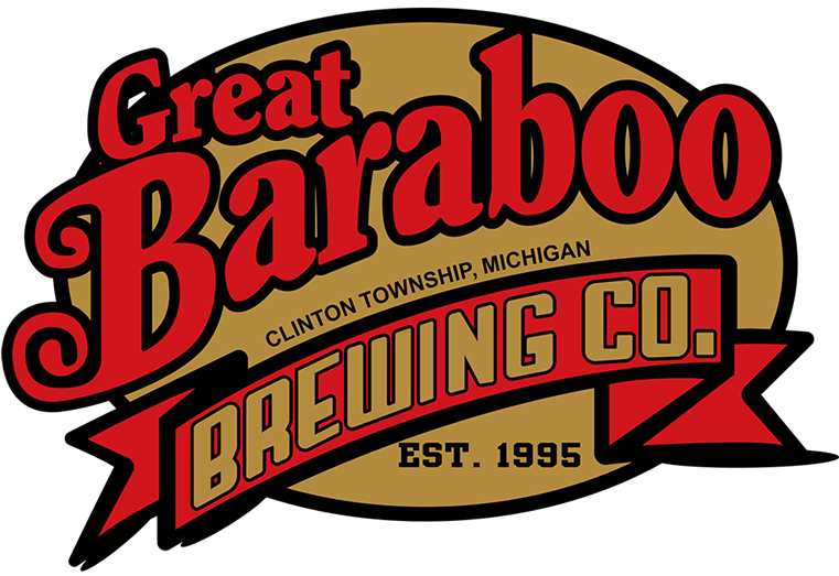 Great Baraboo. Clinton Township, Michigan. Brewing Co. Est 1995