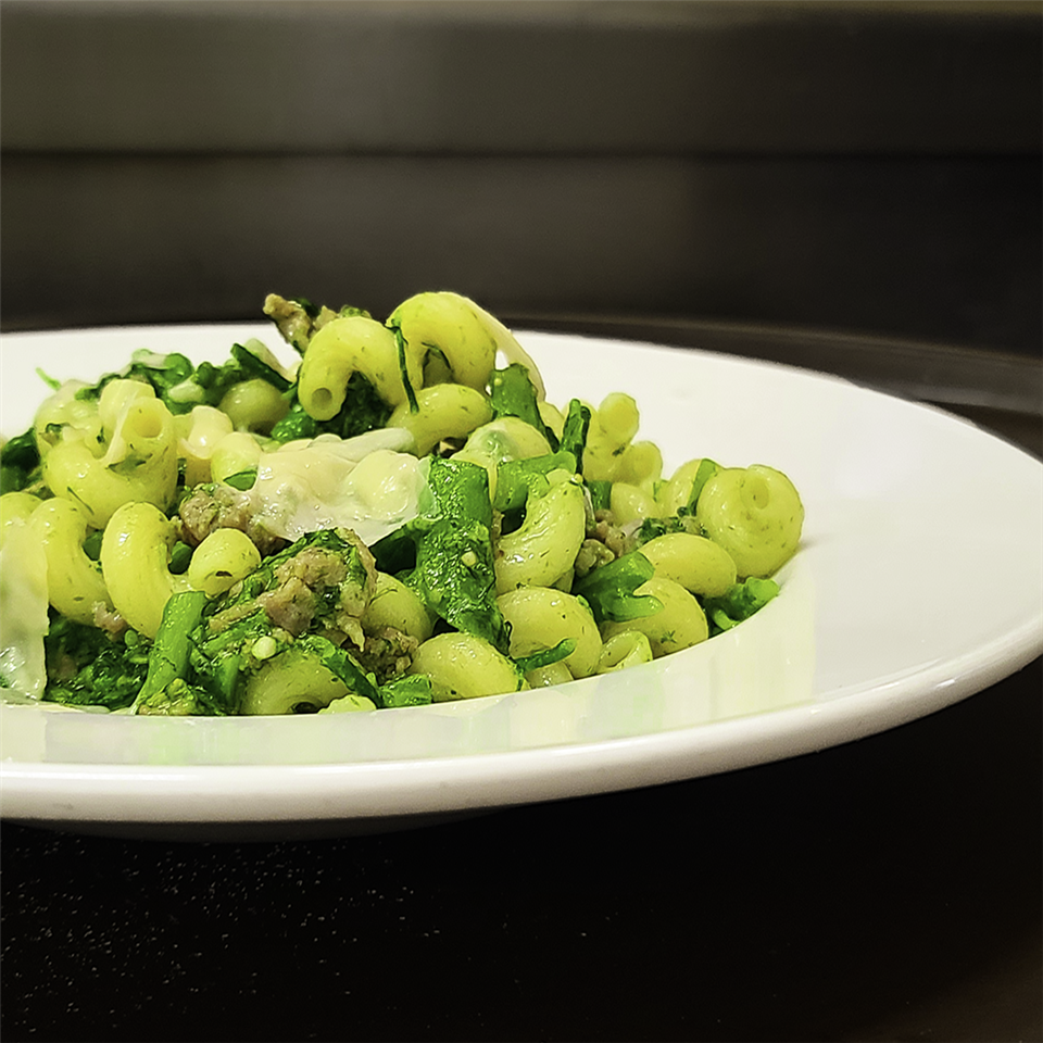 Cavatappi with Italian Sausage and Broccolini