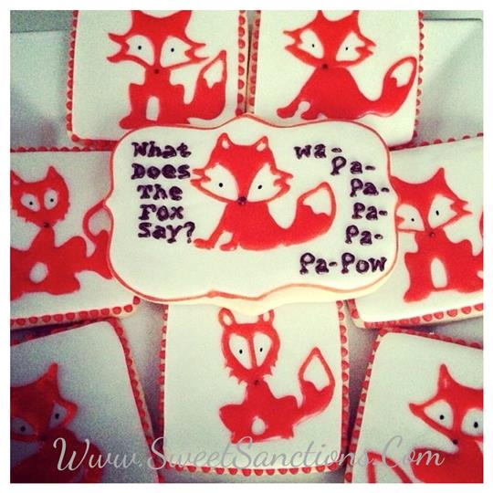 What Does The Fox Say Cookie Set