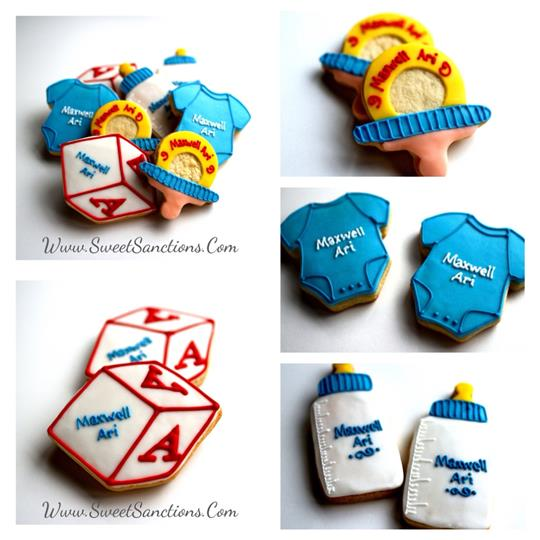 Baby Themed Cookies