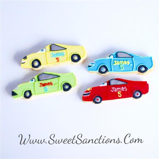 Character Car Cookies