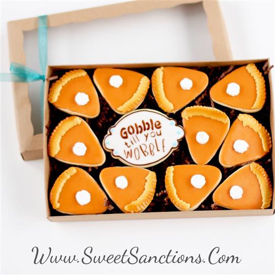 Pumpkin Pie Cookie Boxed Gift Set