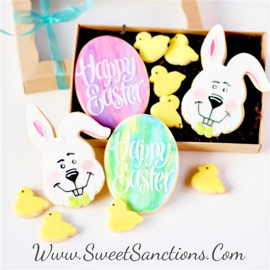 Easter Cookie Gift Box Set