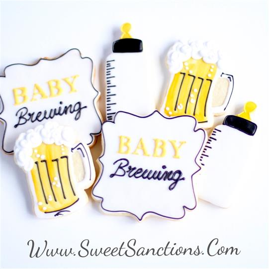 Beer Baby Brewing Cookie Set
