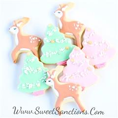 Lady Deer Forest Cookie Set