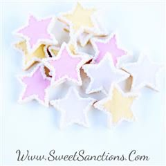Sparkly Mini Star Cookies