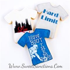 Graphic Tee Shirt Cookies