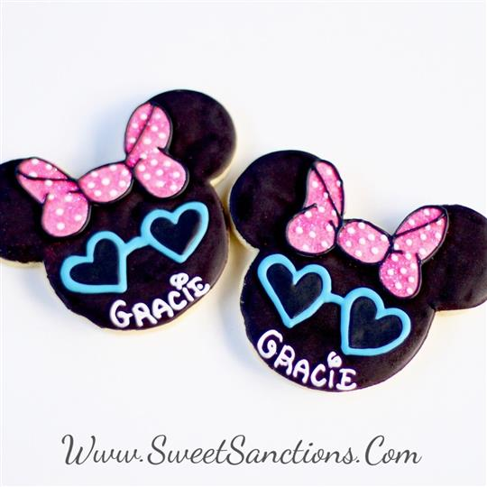 Fashionista Mouse Cookies
