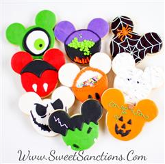 Spooky Mouse Cookies