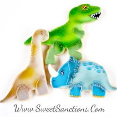 Dinosaur Trio Cookie Set