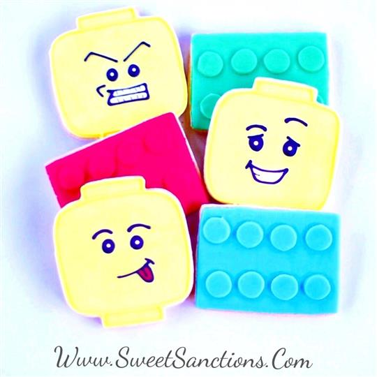Building Blocks & Heads Cookies