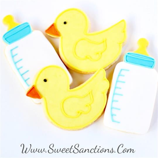 Rubber Ducky Cookie Set