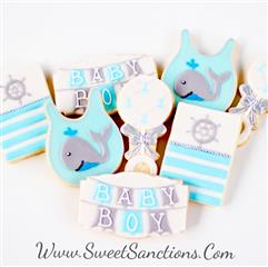 Baby Whale Cookie Set