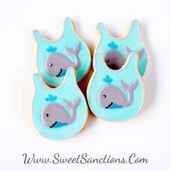 Customized Baby Bib Cookies