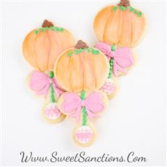 Little Pumpkin Rattle Cookies