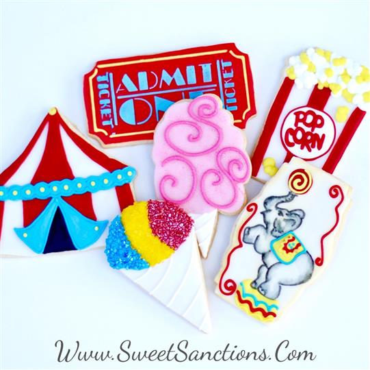 Circus Cookie Set