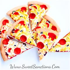 pizza slice cookies