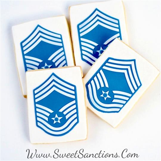 Air Force Chief MAster Sergeant Cookies