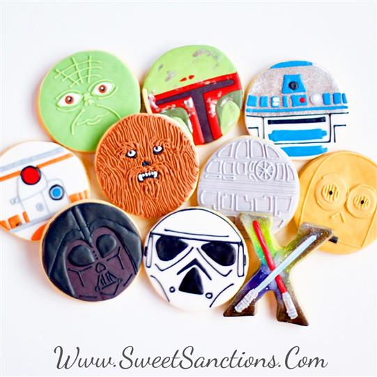 Star of Wars Cookie Set
