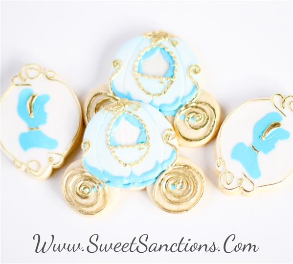 Cindarella Cookie Set