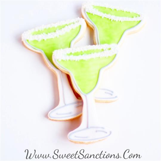 Support Group Margarita Cookies