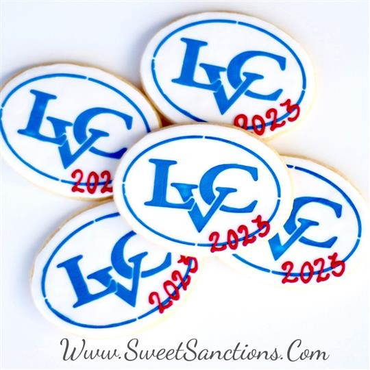 Lebanon Valley College Logo Cookies