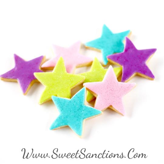 Disco Mini Star Cookies