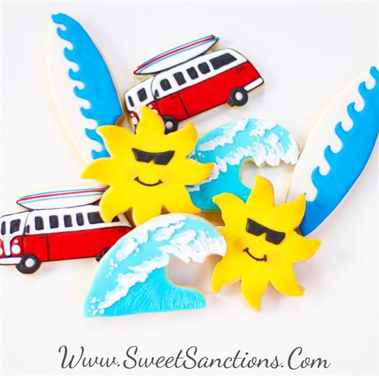 Surfs Up Cookie Set
