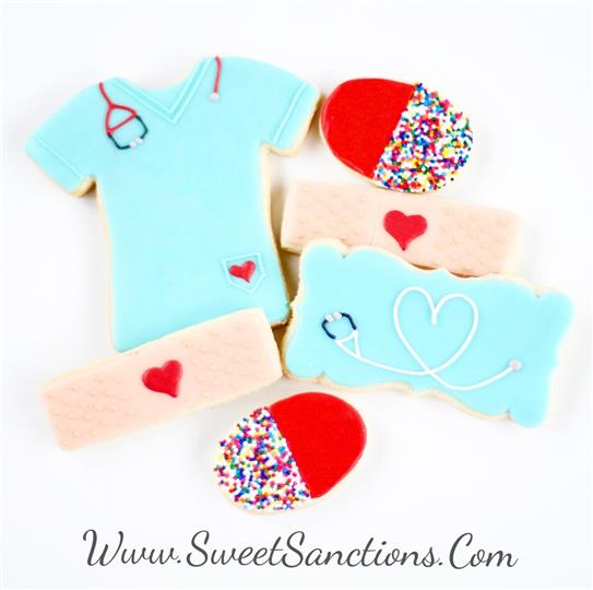 Nurse Love Cookie Set