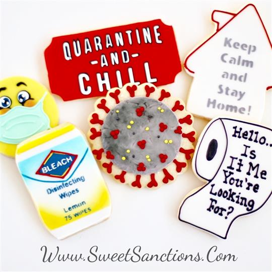 Quarantine Cookie Set