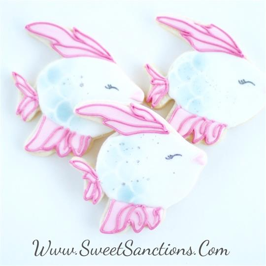 Whimsical Fish Cookies