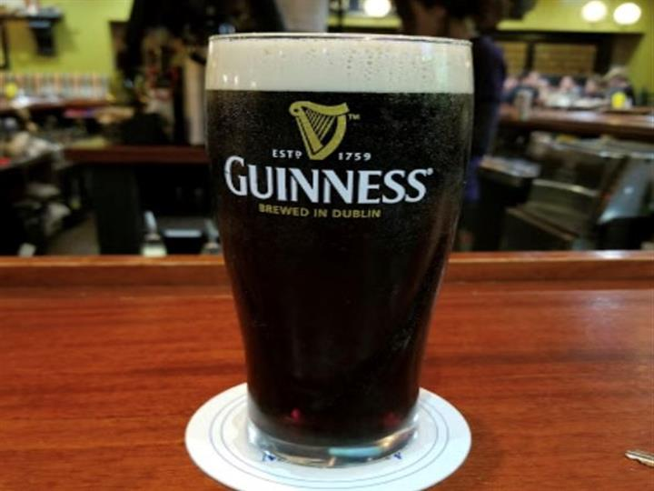 a pint of guinness beer