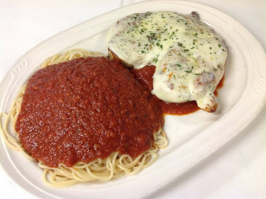 Chicken or Veal Parmesan
