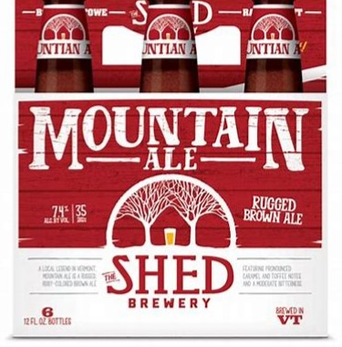 The Shed Mountian Ale