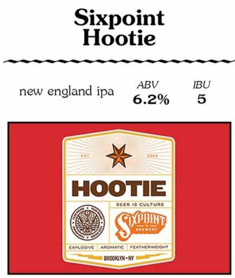 Sixpoint Brewery, Hootie IPA