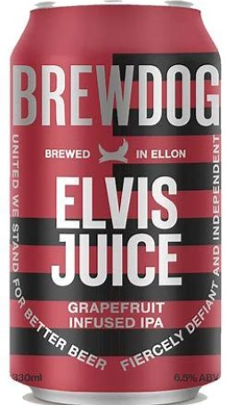 BREW DOG ELVIS JUICE, IPA